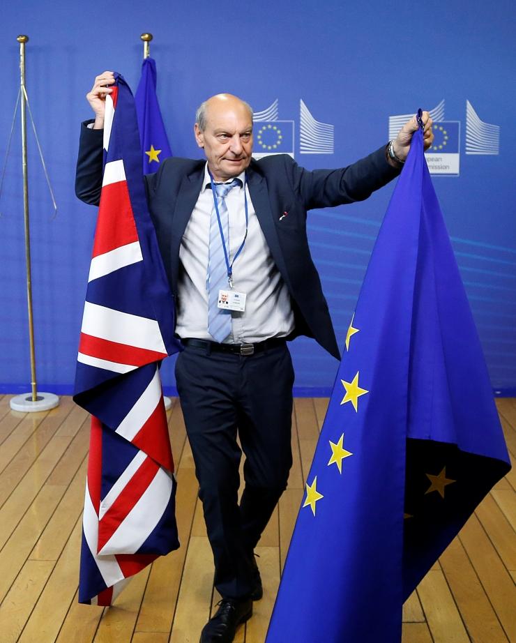 EL ja Suurbritannia alustasid lahkumiskõnelusi