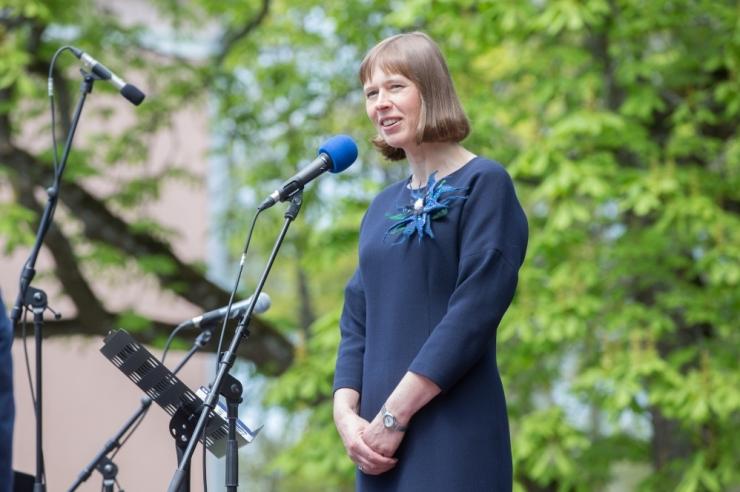 President Kaljulaid tervitas Rail Balticu leppe kinnitamist