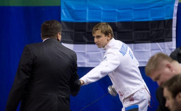 Tallinn tunnustab vehklejat Nikolai Novosjolovit 2500 euroga