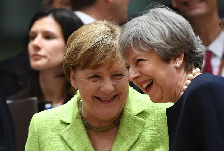 Merkel nimetas May ettepanekuid heaks alguseks