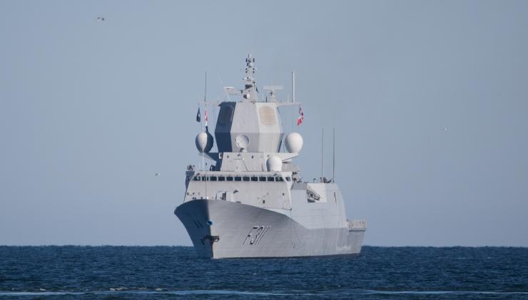 Läti merepiiri lähistel märgati kaht Vene sõjalaeva