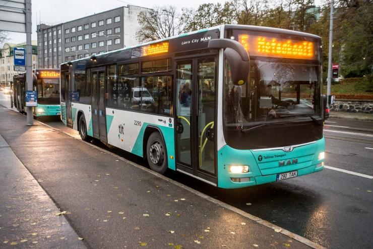 Bussiliinid nr 21, 21B ja nr 41, 41B suunatakse ümbersõidule