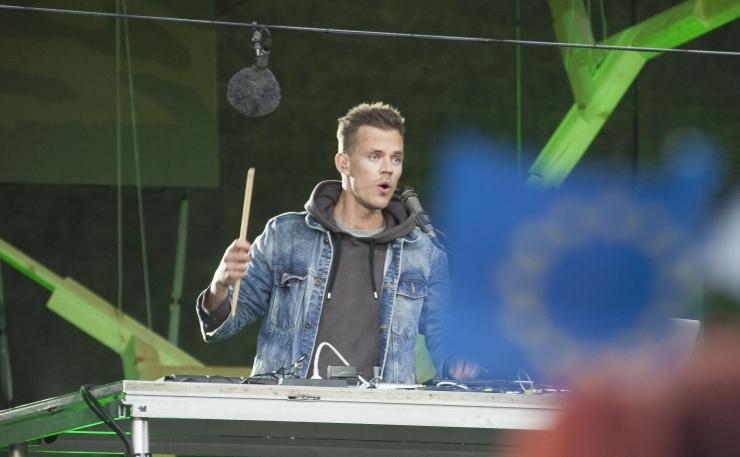 FOTOD JA VIDEO! Eesti eesistumine algas vägeva kontserdiga!