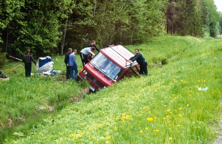 Päeva ainsas liiklusõnnetuses sai viga teelt välja sõitnud noor juht