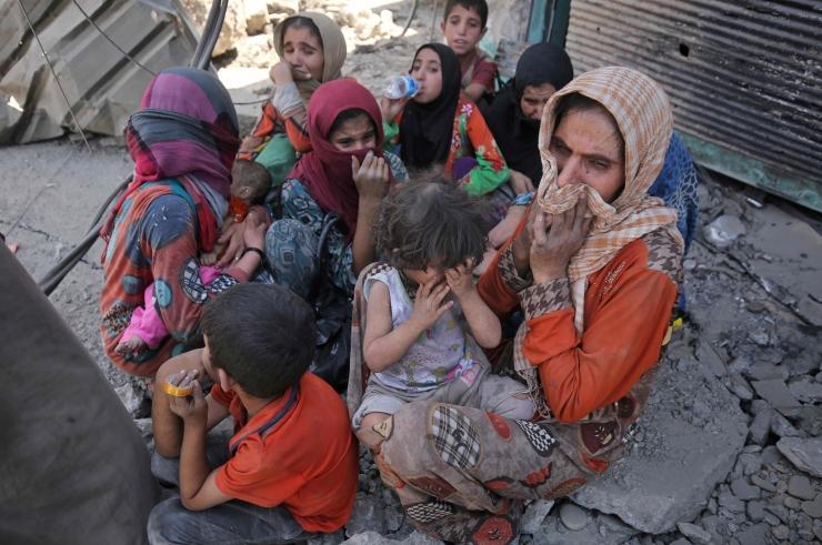 ÜRO: Mosulis on IS-i hõivatud alal lõksus kuni 20 000 tsiviilisikut