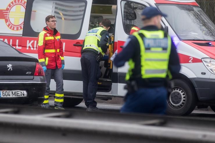 Üheksas liiklusõnnetuses sai viga kümme inimest