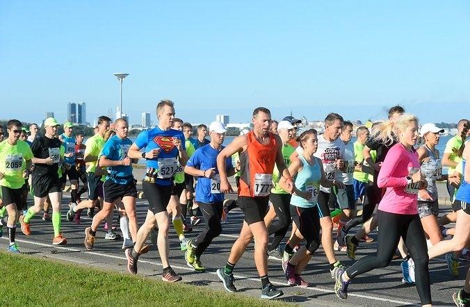 SEB Tallinna Maraton liigub osavõturekordi poole