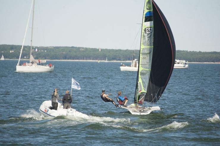 """GALERII! """"Tallinn Race"""" viis parimad purjetajad võistlustulle"""