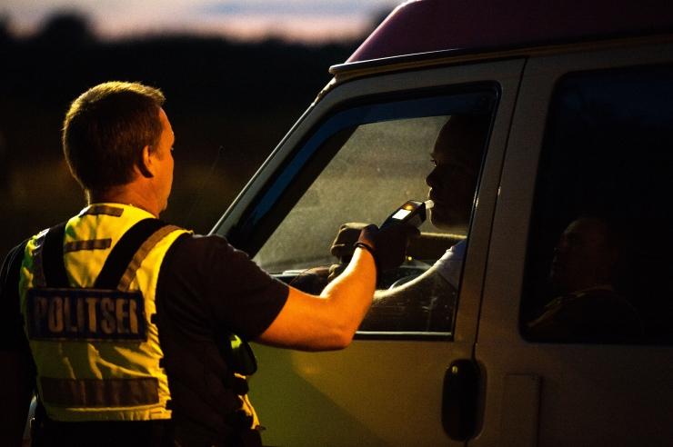 Politsei tabas ööpäevaga ligi 40 joobes sõidukijuhti