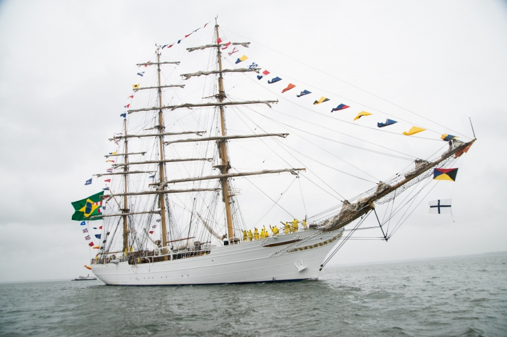SUUR GALERII! Tallinn täitus imekaunite suurte purjelaevadega
