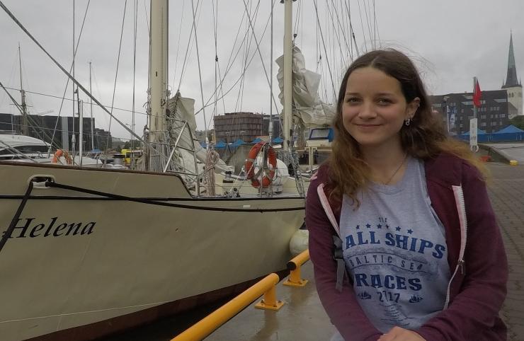 """Purjetaja Simona Mitmann: purjelaeval """"Helena"""" saavad ka algajad purjetamist õppida"""