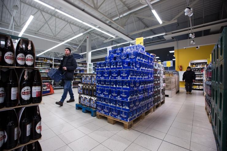 Läti alkoholitootmine langes viie kuuga 3,8 protsenti