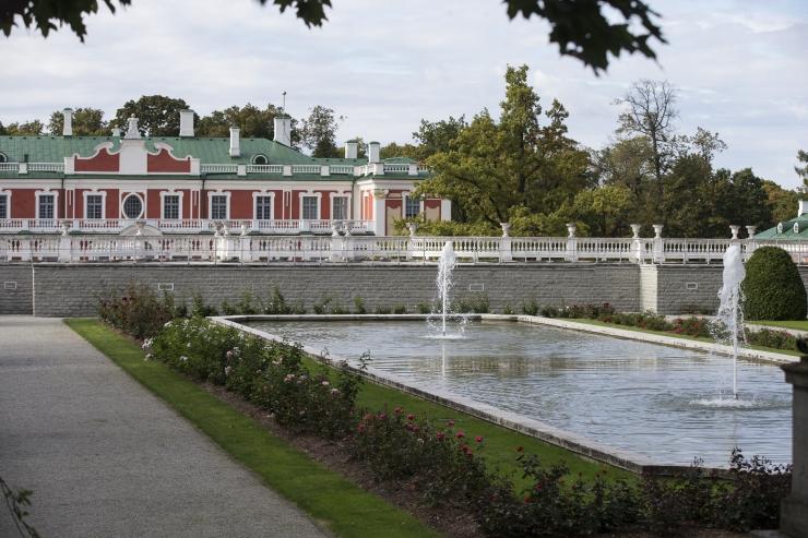 Kadrioru lossi- ja pargiansambel tähistab oma 299. sünnipäeva.
