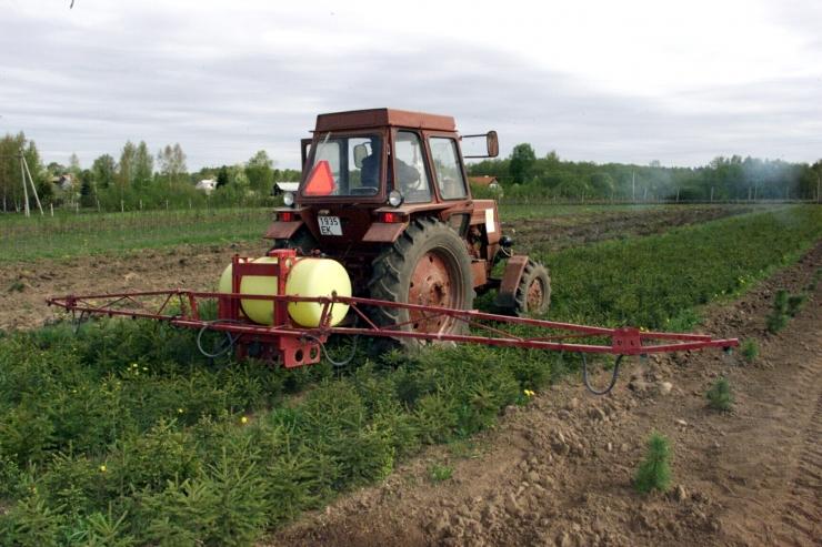 Eestis kulub aastas pea miljon kilogrammi taimekaitsevahendeid