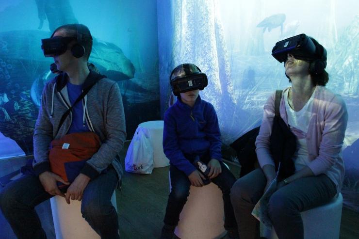 Loodusmuuseumi virtuaalreaalsuse elamus kutsub kohtuma ürgsete elukatega