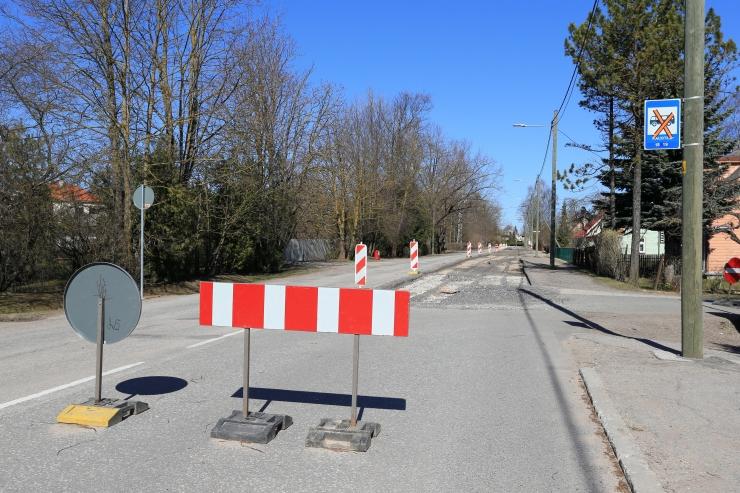 Esmaspäevast algavad Kiili tänava rekonstrueerimistööd