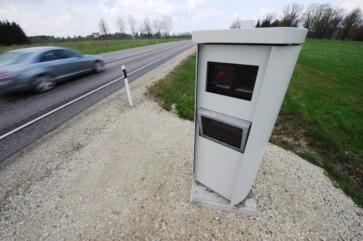FOTO! Tundmatu inimene valmistas külmkapist kiiruskaamera