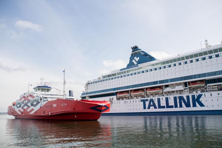 Tallink katsetab Helsingi-Riia laevaliini