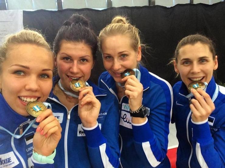 Eesti epeenaiskond tuli Leipzigis maailmameistriks