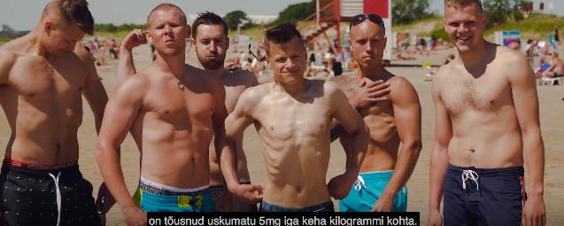 """VIDEO! Lauri Pedaja lavastas lustaka """"dokfilmi"""" Pärnu rannaelust"""