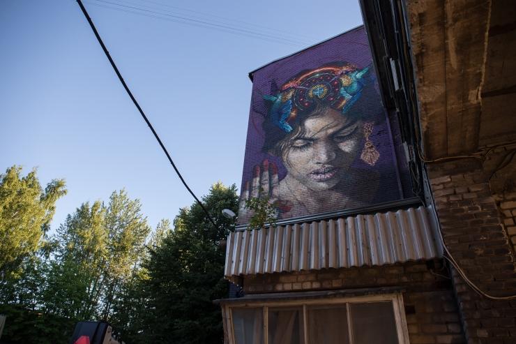 Tallinn jätkab supergraafiliste seinapiltide rajamist