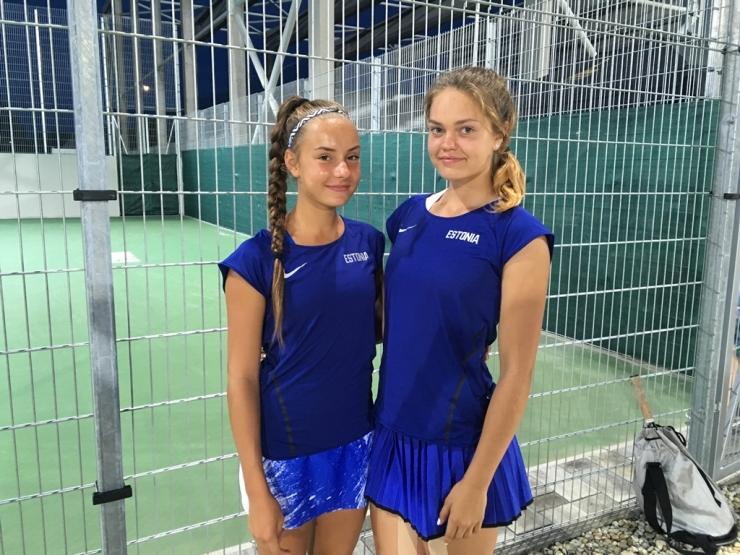 Carol Plakk – Katriin Saar võitsid olümpiafestivalilt tennises paarismängu pronksmedali!