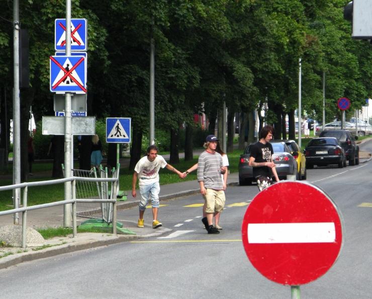 Täna on Tallinnas liikluspiirangud
