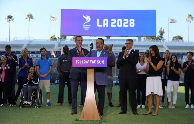 Los Angeles on saamas 2028. aasta olümpiamängud