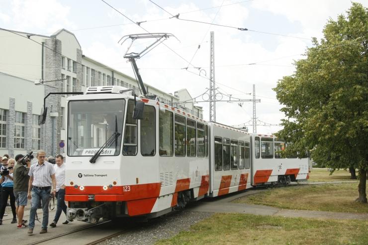 FOTOD JA VIDEO! Taavi Aas: renoveeritud tramm on nagu uus!