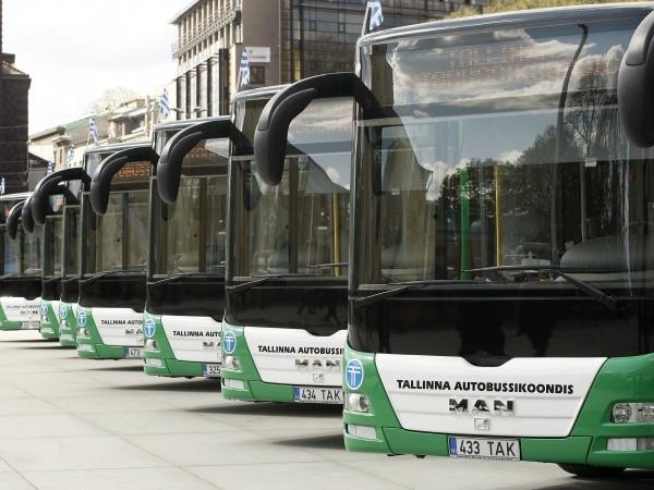 Alates 8. augustist suunatakse ümbersõidule bussid nr 35, 50, 56, 65 ja 67