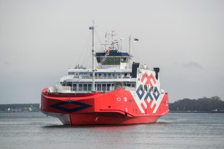 Parvlaev Tiiu kraapsas põhja kaks korda