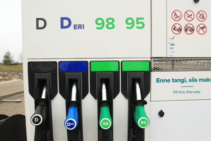 Balti kütusehinnad langesid vaid Tallinnas