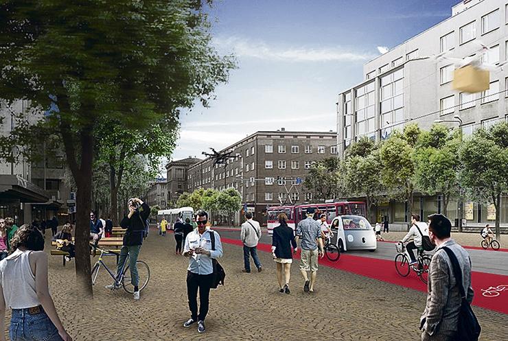 TORMILINE KASV: Merevaatega tänavad tühermaale ja aiad paneelmajade vahele