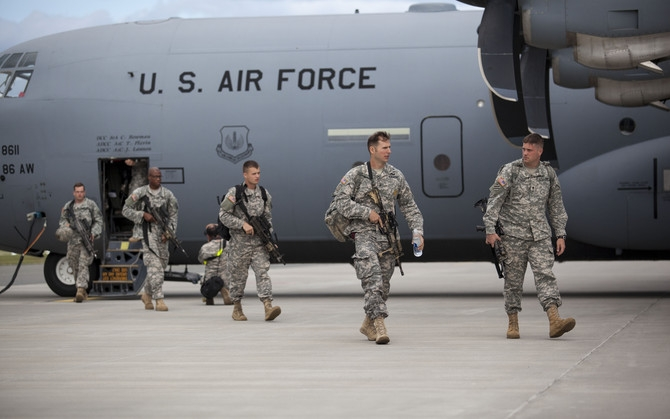 USA saadab Zapadi ajaks Eestisse kompanii õhudessantväelasi