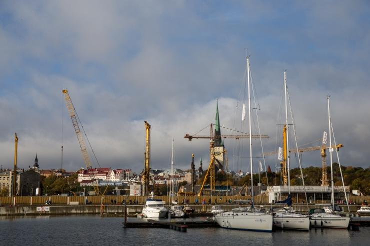Tallinna Sadam üürib välja Admiraliteedi basseini äärse ala