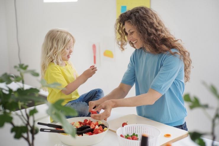 6 loovat ideed, mille abil laps salateid sööma panna