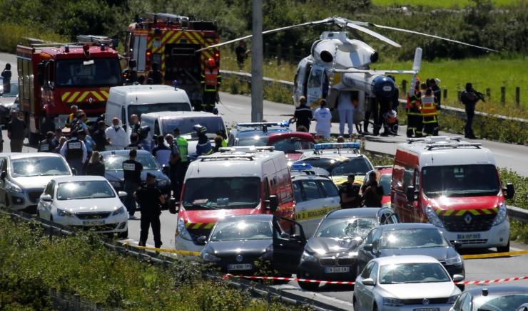 Prantsuse politsei vahistas autorünnakuga seoses kahtlustatava