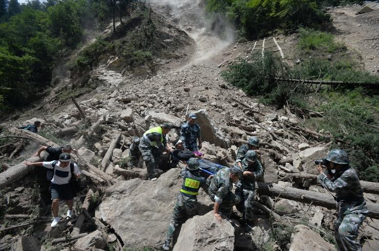 Maavärin laastas Hiina kauneimat loodusparki