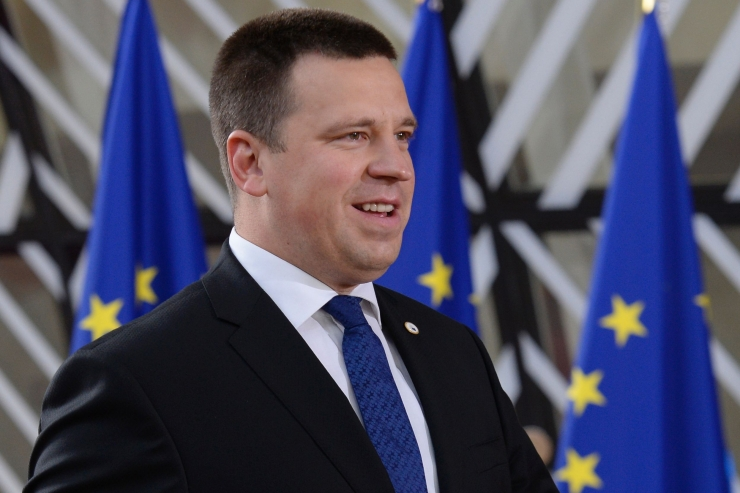 Ratas: Eesti toetab regionaalse LNG terminaliga edasi liikumist