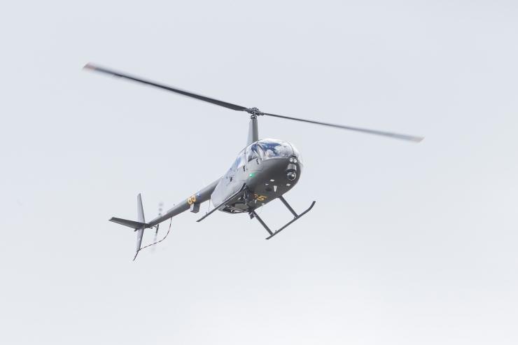Kihnu saarele rajatakse 90 000 euro eest helikopteriplats