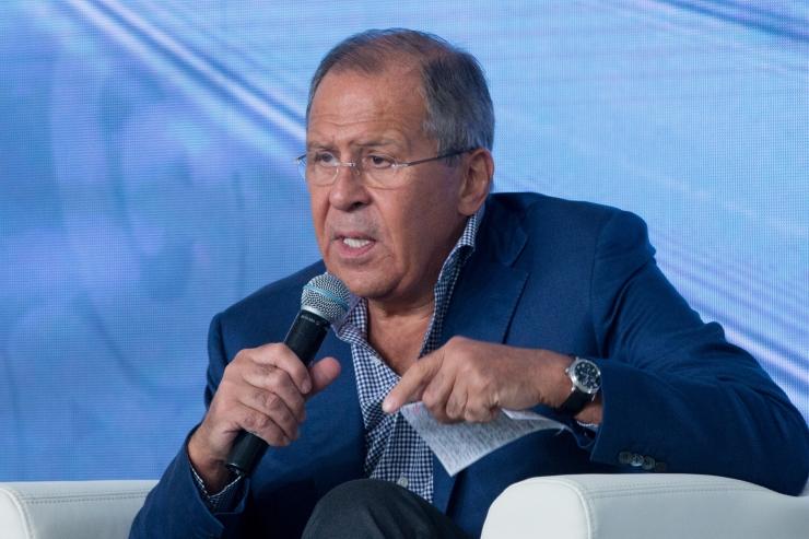 Lavrov: Washingtoni ja Pyongyangi enneteva löögi jutt on ohtlik