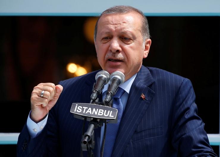 """Türgi teatas """"ettevaatusabinõudest"""" Süüria piiril"""