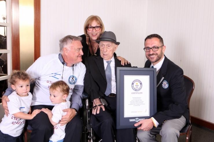 Iisraelis suri 113 aasta vanuses maailma vanim mees