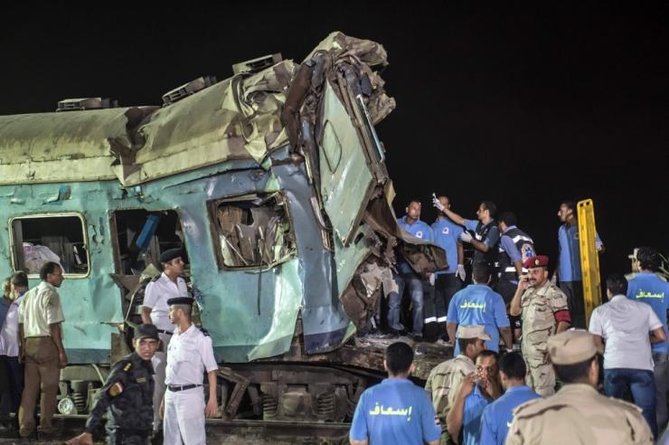 Egiptuses sai kahe rongi kokkupõrkes surma vähemalt 43 inimest