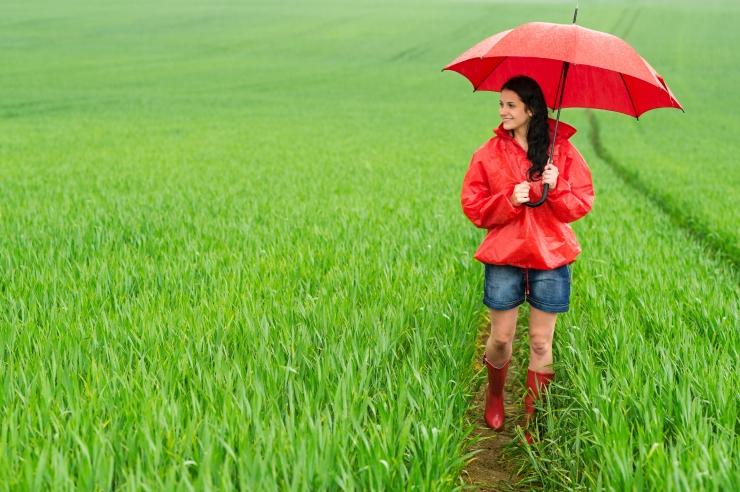 Jahedapoolne esmaspäev toob veel pisut vihmalisa
