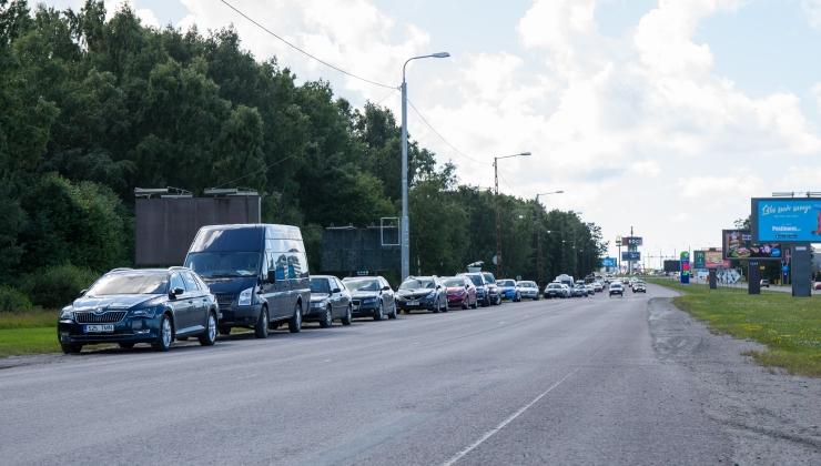 Paldiski maantee kesklinna poolne ots on suletud