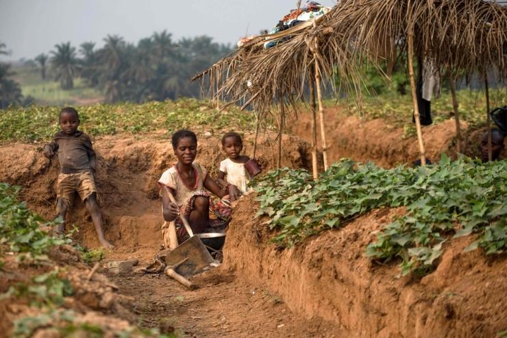 ÜRO: Kongo DV konflikti tõttu ähvardab nälg pea 8 miljonit inimest