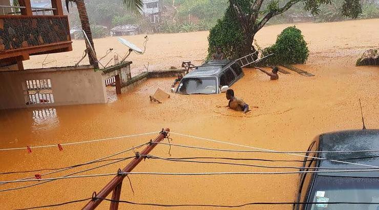 Punane Rist: Sierra Leone pealinnas hukkus tulvades 18 inimest