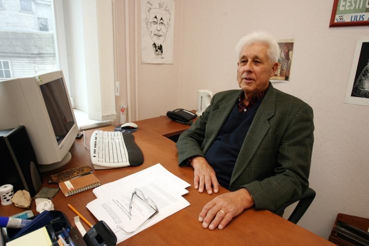 Professor Taagepera: eesti keelt keedetakse nagu konna aeglasel tulel