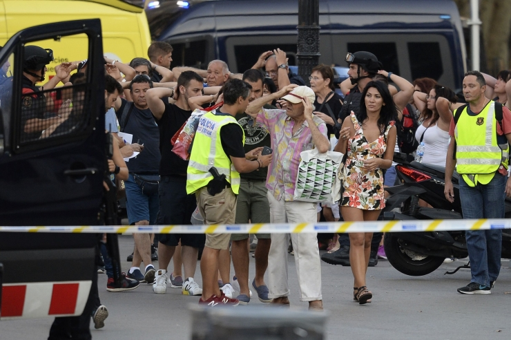 Barcelona rünnaku kannatanute seas oli 24 riigi kodanikke